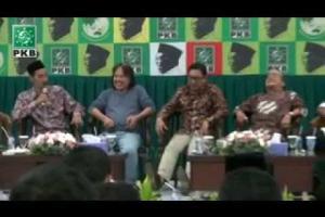 Pemikir social dan Pengurus PBNU, Abdul Mun'im Dz berikan Testimoni KH Abdurrahman Wahid (Gus Dur) dalam acara Haul Gus Dur ke-5