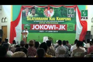 Ketua dan Pengurus DPP PKB bersama puluhan Kiai dalam rangkaian Ziarah Wali Songo dan silaturahmi Kiai Kampung Pati, Jateng