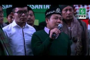 Ketum DPP PKB melepas puluhan Kiai dan santri dalam rangkaian Ziarah Wali Songo, pemenangan Jokowi - JK