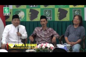 Mantan Jubir Presiden Gus Dur dan agamawan, KH Yahya Staquf berikan Testimoni Pendiri PKB, KH Abdurrahman Wahid (Gus Dur) dalam
