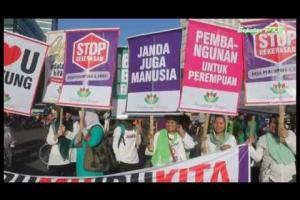Perempuan Bangsa Tolak Kekerasan Terhadap Perempuan