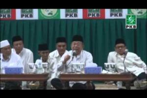 Tausyiah Maulid Nabi Muhammad SAW dan Mujahadah Selapanan oleh KH Ma'ruf amin di DPP PKB, Rabu (14/01/2015)