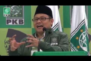 Ketum DPP PKB A Muhaimin Iskandar berikan Testimoni KH Abdurrahman Wahid (Gus Dur) dalam acara Haul Gus Dur ke-5 DPP PKB Jakarta