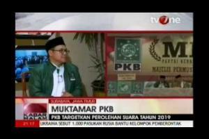 Pernyataan Ketum DPP PKB, A muhaimin Iskandar dalam Muktamar PKB program Kabar Malam Tv One 30 Agustus 2014