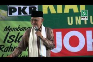 Ketua Dewan Syuro dan Pengurus DPP PKB dalam rangkaian Ziarah Wali songo dan Silaturahmi Kiai Kampung Grobogan, Jateng