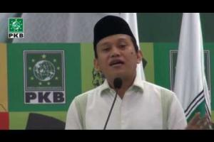 Sekretaris Jenderal DPP PKB, Abdul Kadir Karding berikan LPJ dan testimoni, KH Abdurrahman Wahid (Gus Dur) Haul Gus Dur ke - 5